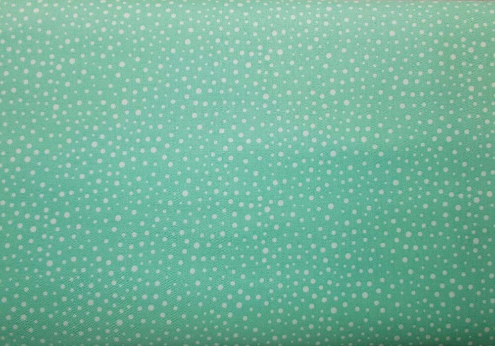 Camelot Mint Green Mixology Dots Quilting Fabric Sewing