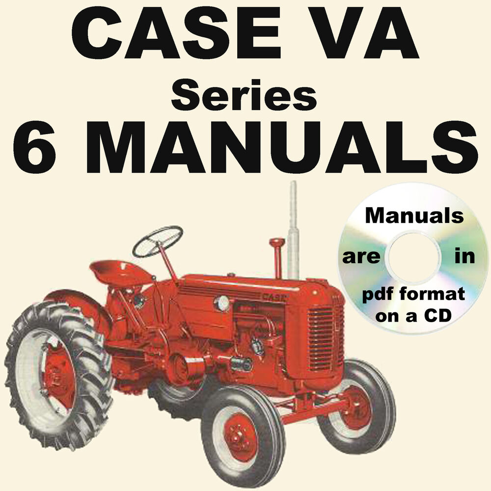 Tractor Restoration Parts : Case va series engine tractor repair service operator