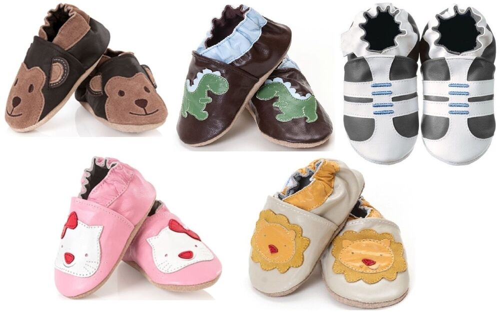 BABY GIRL BOY LEATHER SHOES. PINK, BLUE, WHITE. 12 DESIGNS ...