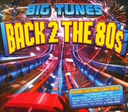Big tunes back 2 the 80s 3 x cd ebay for 90s house tunes