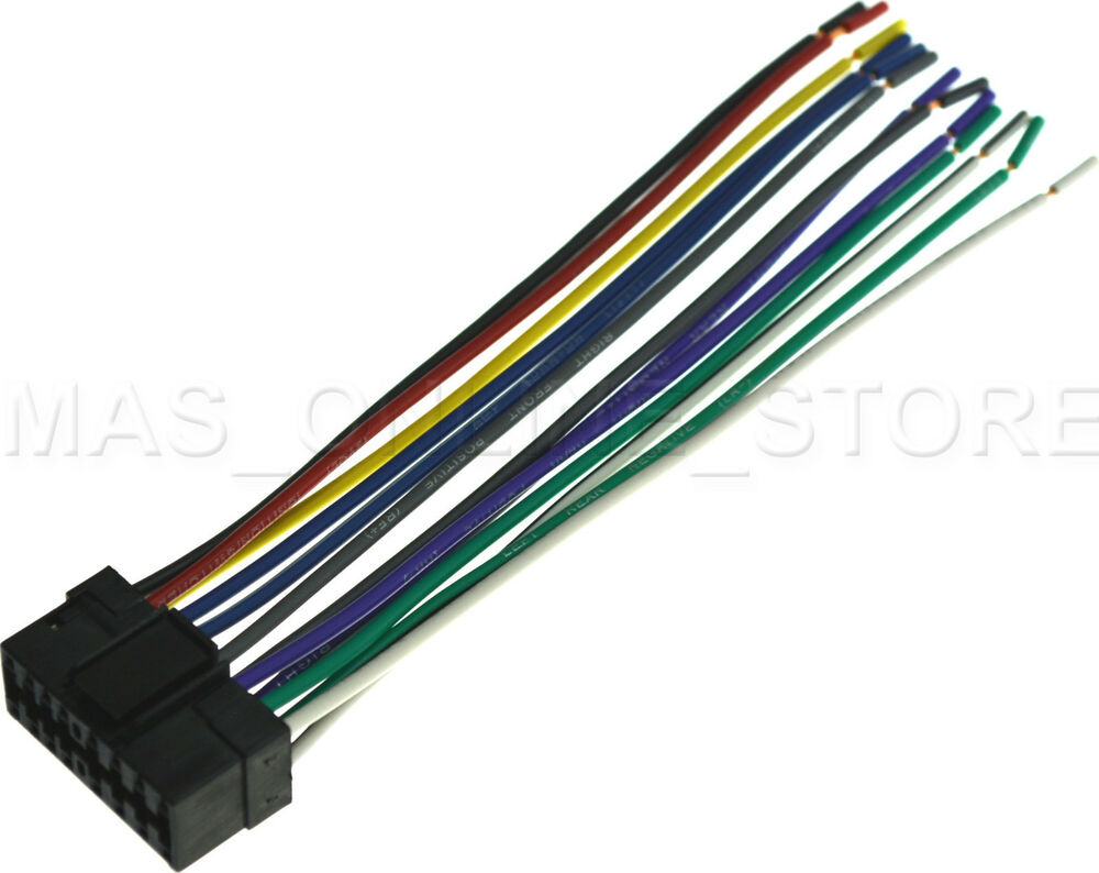 wire harness for sony cdx gt66upw cdxgt66upw pay today