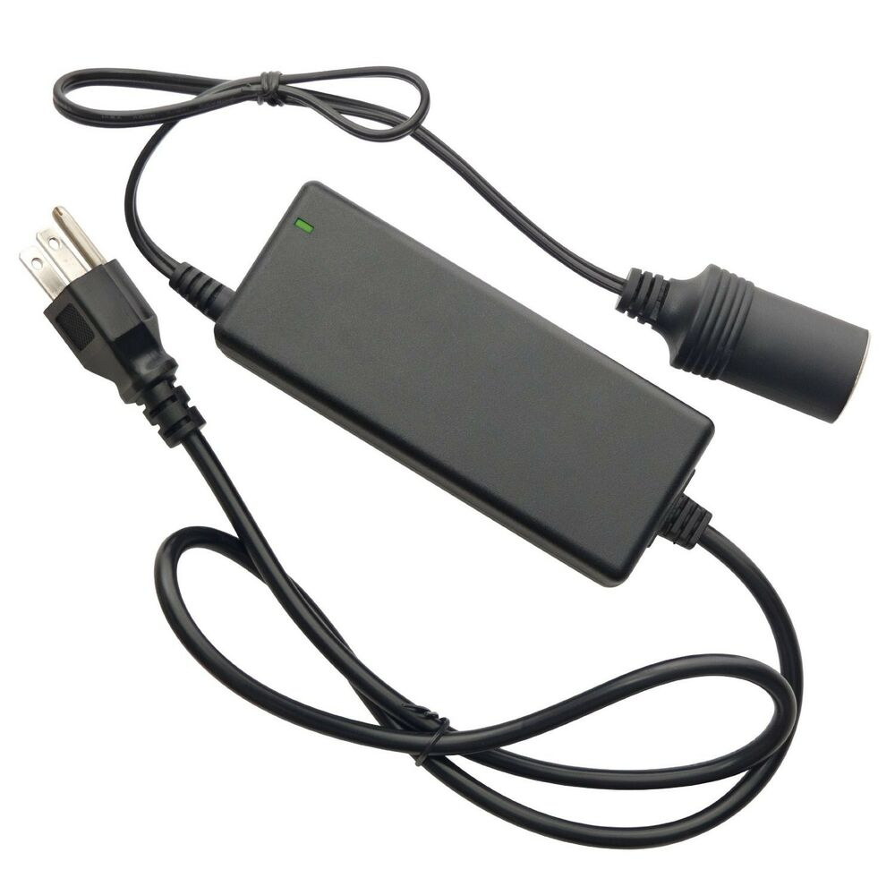 wagan 9903 5 amp ac to 12 volt dc power adapter using 12v dc device at home 120v ebay. Black Bedroom Furniture Sets. Home Design Ideas