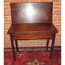 18TH CENTURY GEORGE III CUBAN MAHOGANY ANTIQUE CARD TABLE / GAME TABLE