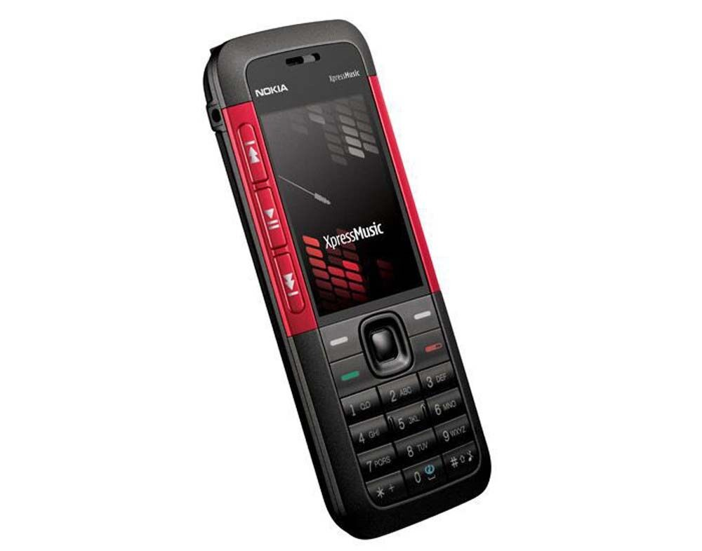 Nokia 5310 XpressMusic (RED) Unlocked Phone Bluetooth FM