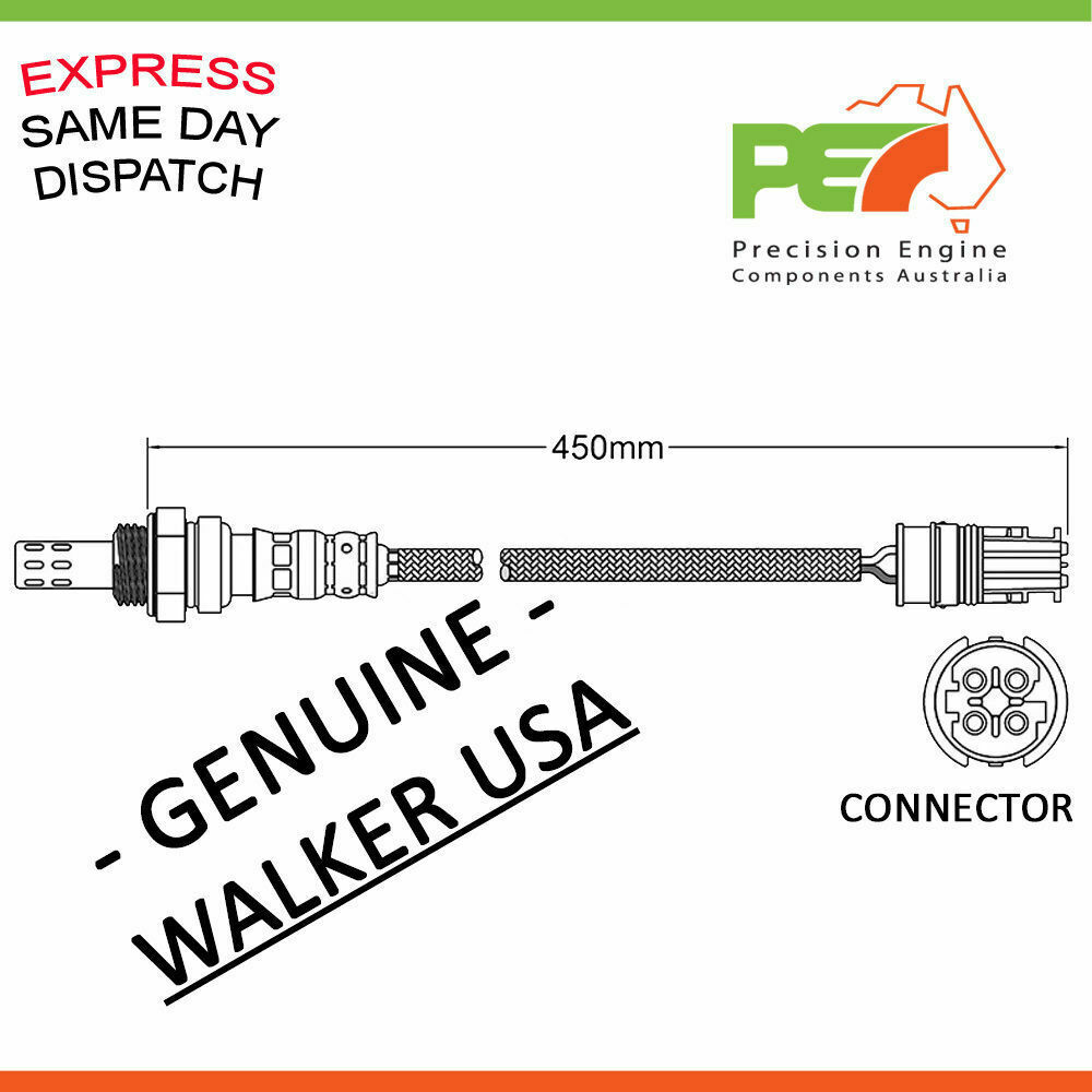 New Genuine Walker Oxygen Sensor O2 For Bmw 116i 118i