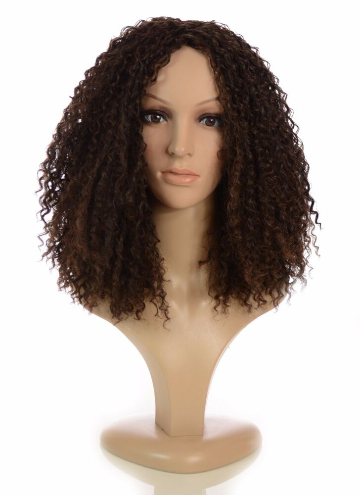 Long Natural Rihanna Afro Style Wig Full Thick Afro