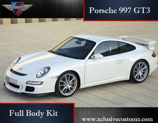 porsche 997 gt3 gen 2 full body kit ebay. Black Bedroom Furniture Sets. Home Design Ideas