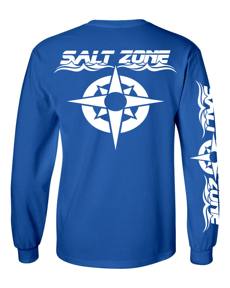 Salt zone performance wear mens saltwater long sleeve for Saltwater fishing shirts