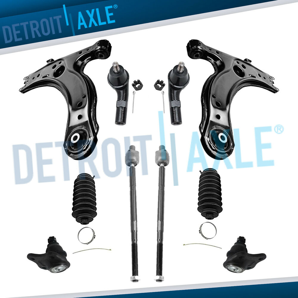 Front Suspension: Brand New 10pc Complete Front Suspension Kit For VW Jetta