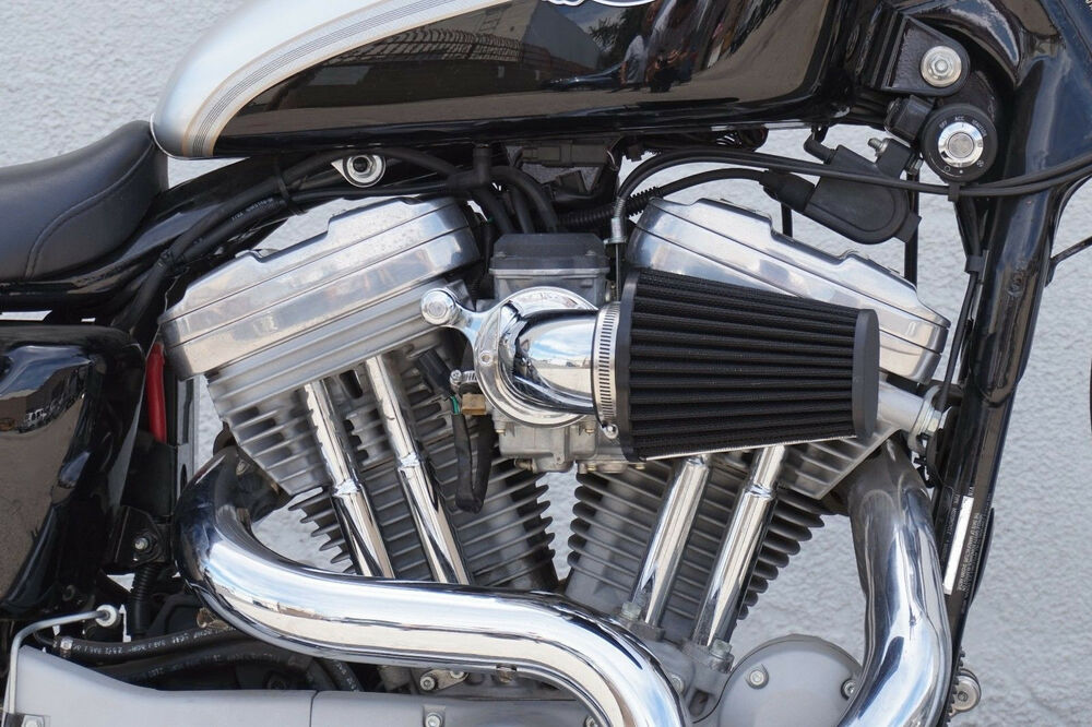 Chrome Screaming Eagle Style Air Cleaner For 1991 2015