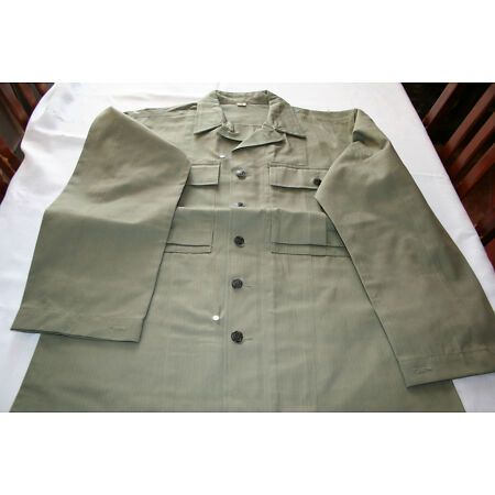img-US AMERICAN ARMY GREEN HBT JACKET WW2 Repo