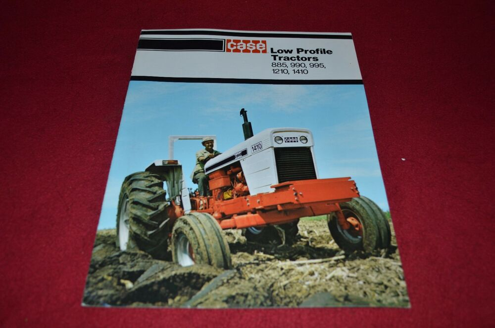 Case Tractor Showroom : Case  tractor dealer s brochure yabe