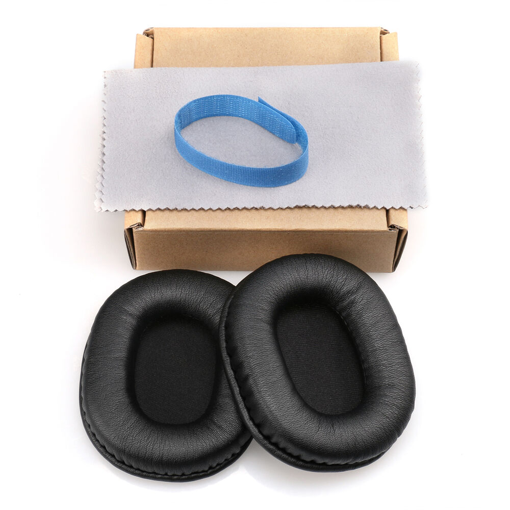 Protein Leather Ear Pads Cushion For Audio-technica ATH