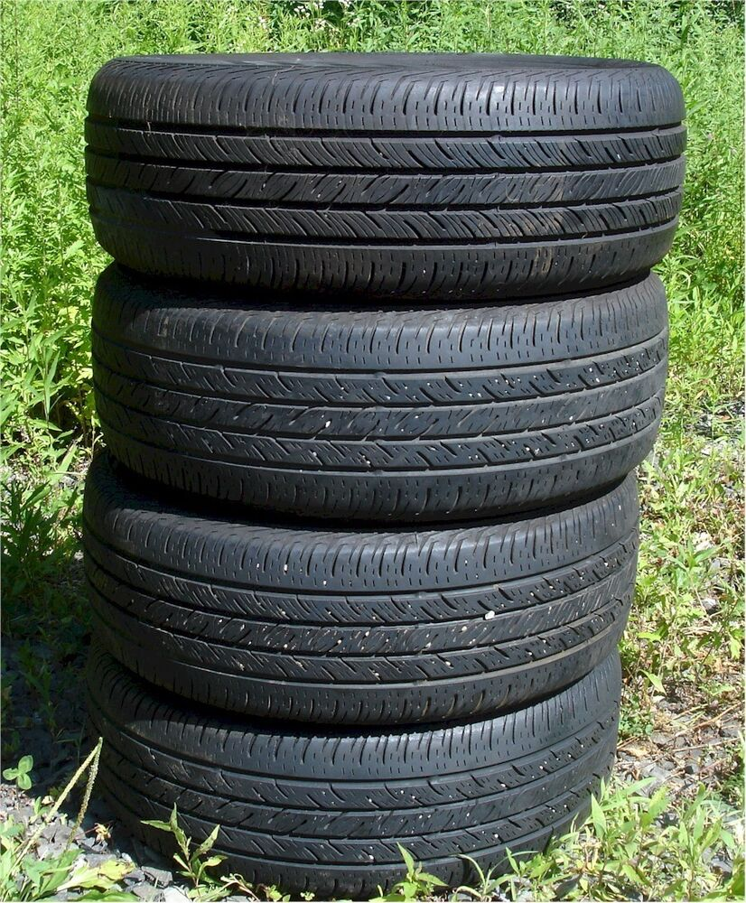 4 great continental used tires p215 60 r16 ebay. Black Bedroom Furniture Sets. Home Design Ideas