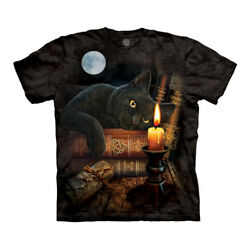 The Mountain Witching Hour Cat Adult Unisex T-Shirt