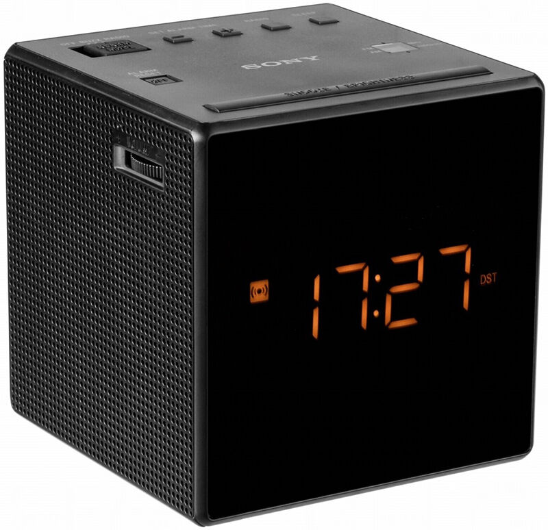 essential sony icf c1t am fm dual alarm clock radio black ebay. Black Bedroom Furniture Sets. Home Design Ideas