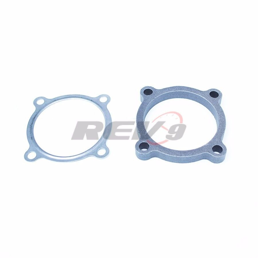 Rev quot inch bolt exhaust downpipe flange gasket adaptor