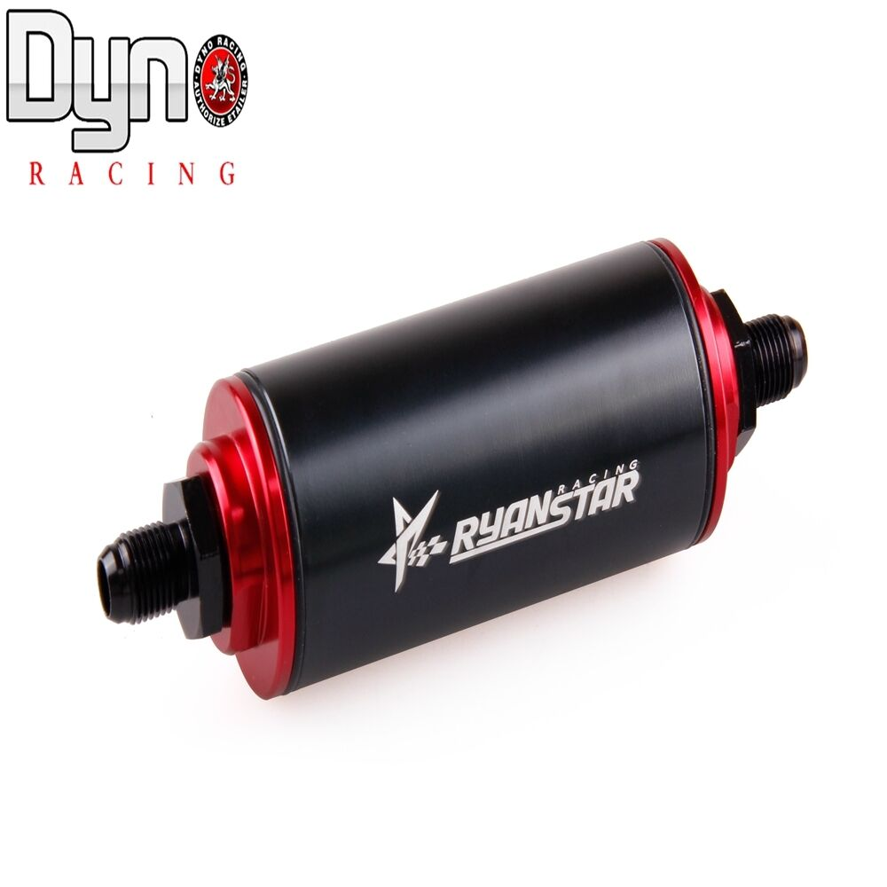 Aluminum car in line oil fuel filter an fittings adapter