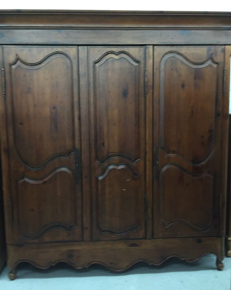 Habersham plantation french provincial armoire wardrobe heirloom 7 tall solid ebay