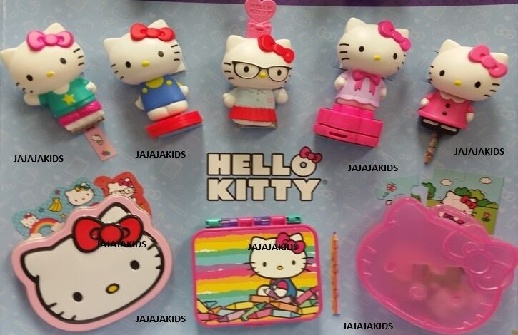 Hello Kitty Mcdonald S Toys : Mcdonalds hello kitty complete set of ebay