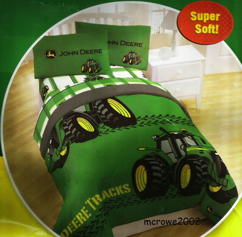 John Deere Bed Sheet Sets