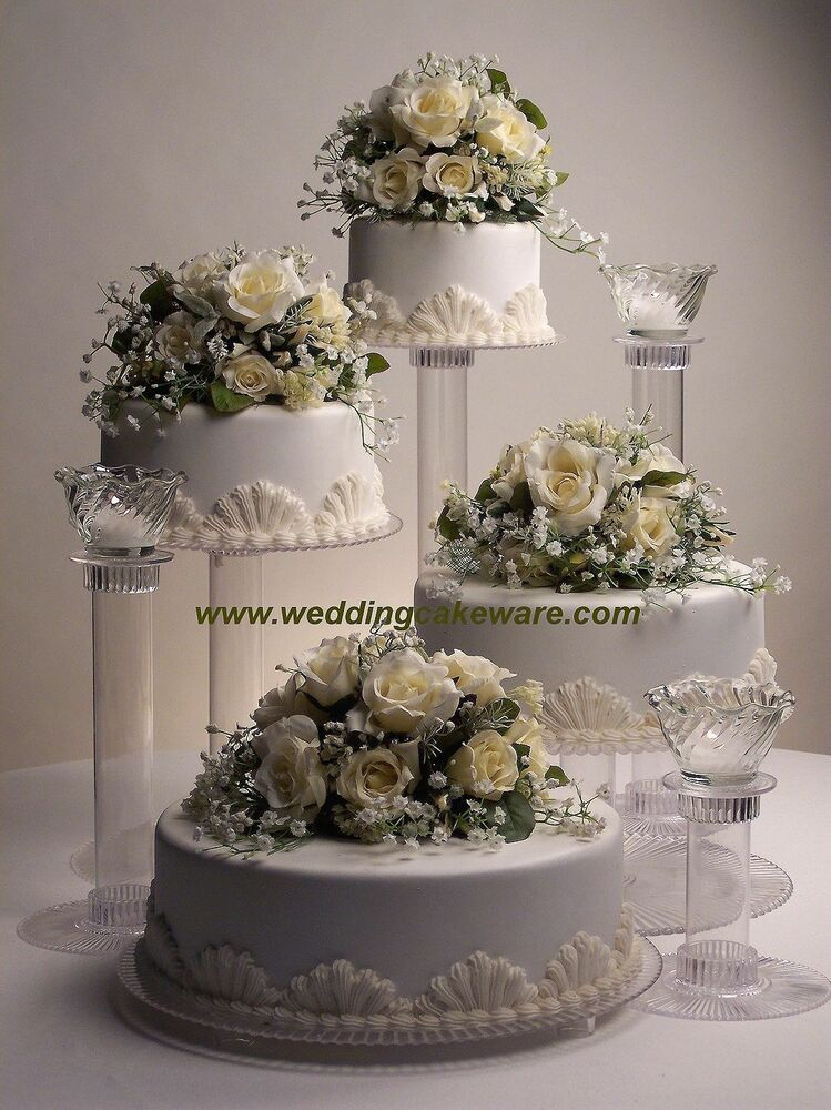 wedding cake tier stands 4 tier cascading wedding cake stand stands 3 tier candle 26272