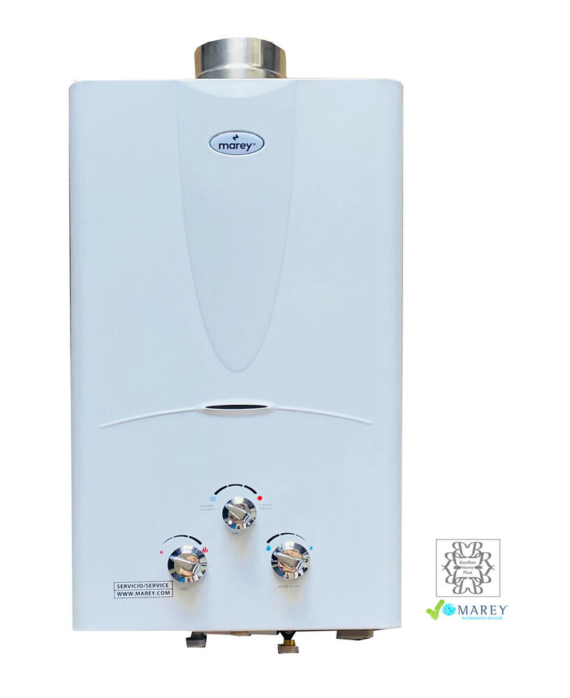 best tankless natural gas marey ga10ng instant on demand water heater 2 7 gpm ebay. Black Bedroom Furniture Sets. Home Design Ideas
