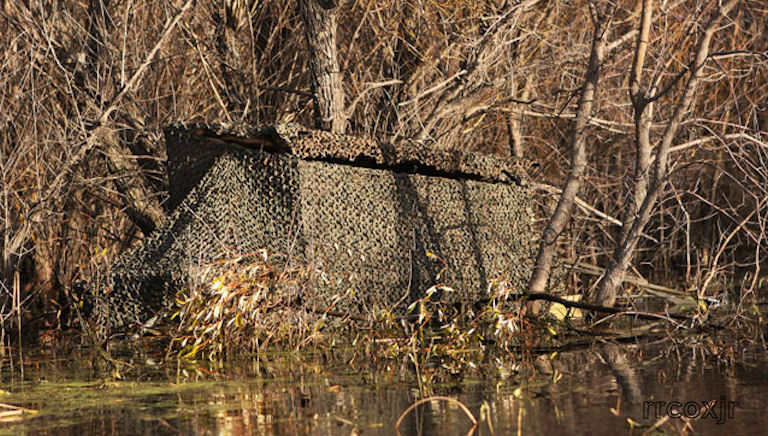 Banded Axe Boat Shore Duck Blind Camo Skin Cover