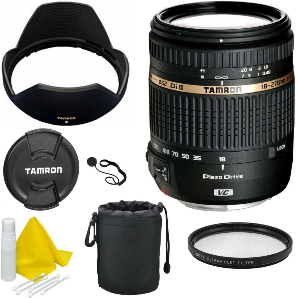 tamron 18 270 mm f 3 5 6 3 di ii pzd vc af lens for canon ef s mount 4960371005560 ebay. Black Bedroom Furniture Sets. Home Design Ideas