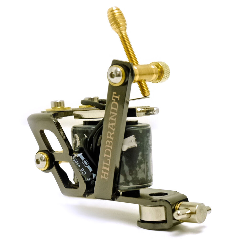 Hildbrandt 38 calibre tattoo machine 8 wrap shader tatoo for Tattoo gun parts
