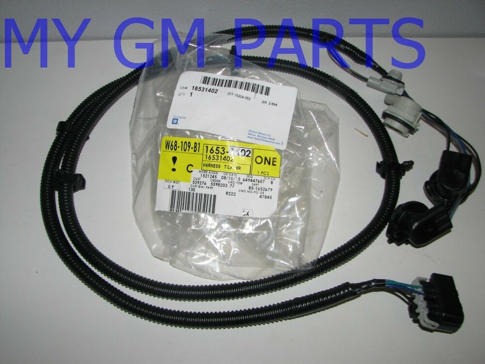 silverado passenger tail light tail lamp wiring harness ... 1995 chevy silverado wiring harness 03 silverado wiring harness