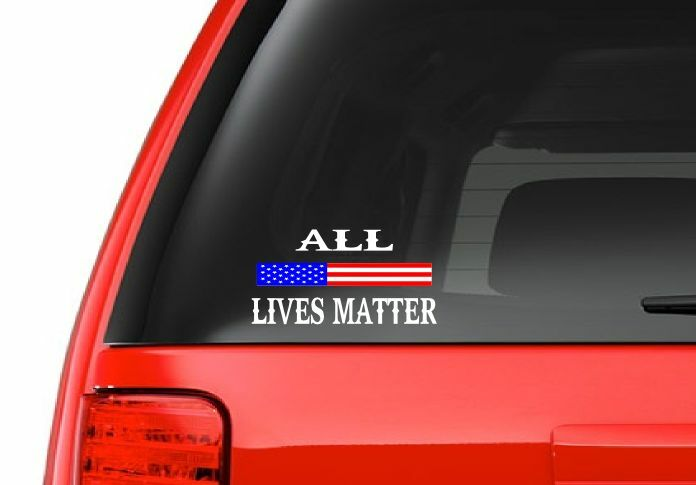 All Lives Matter M39 Vinyl Decal Sticker Laptop Car