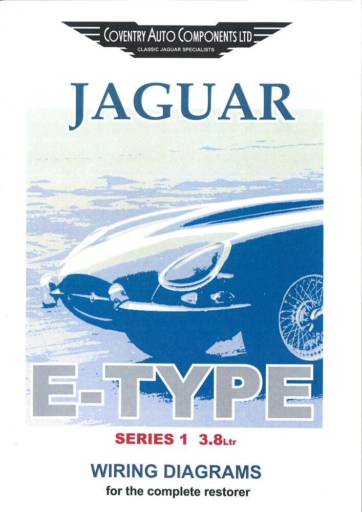 Series    1    E      type    38 Jaguar Exploded Wiring    Diagram    Book  9190    eBay