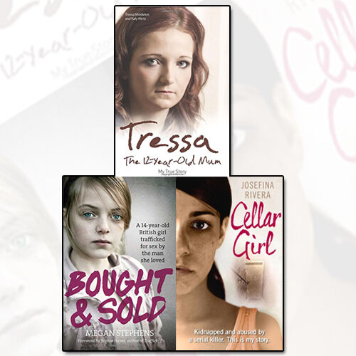 Tressa The 12 Year Old Mumbought And Sold Cellar Girl 3 Books Set