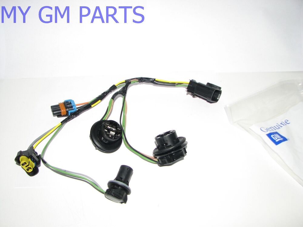 gmc sierra head light wiring harness 2007 2013 new oem. Black Bedroom Furniture Sets. Home Design Ideas