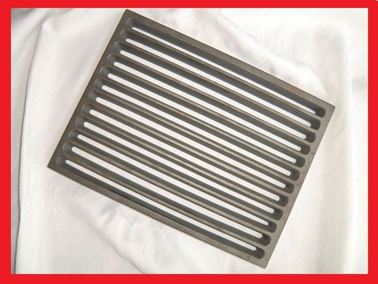 Stove Grate Grate Rust Fire Grate Fireplace Grate 20x28 Cm