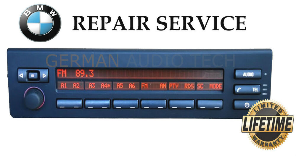 Bmw Multi Information Radio Stereo Display Mid Repair