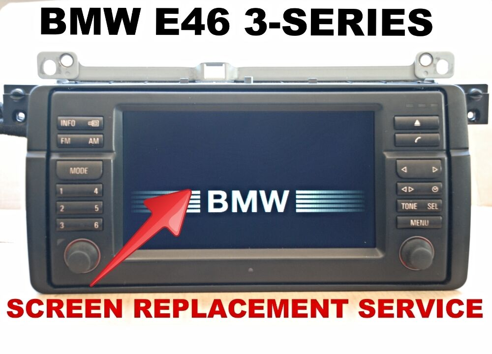 LCD REPLACEMENT SERVICE for BMW E46 3-SERIES M3 WIDE ...