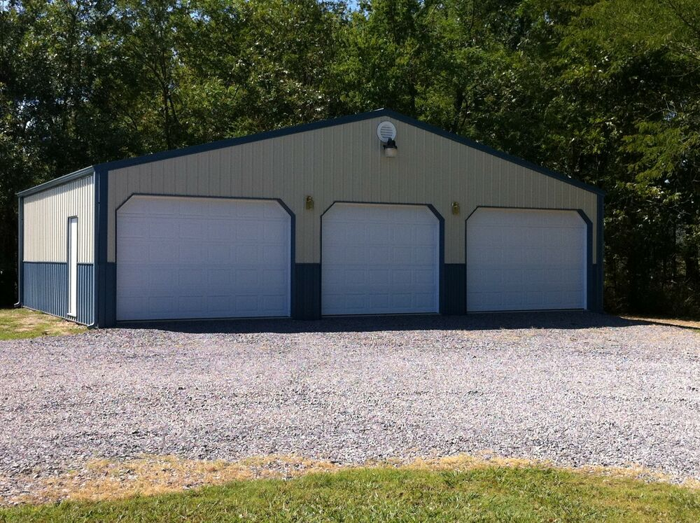 Pole Barn 40x30x12 Garage Material List Building Plans E