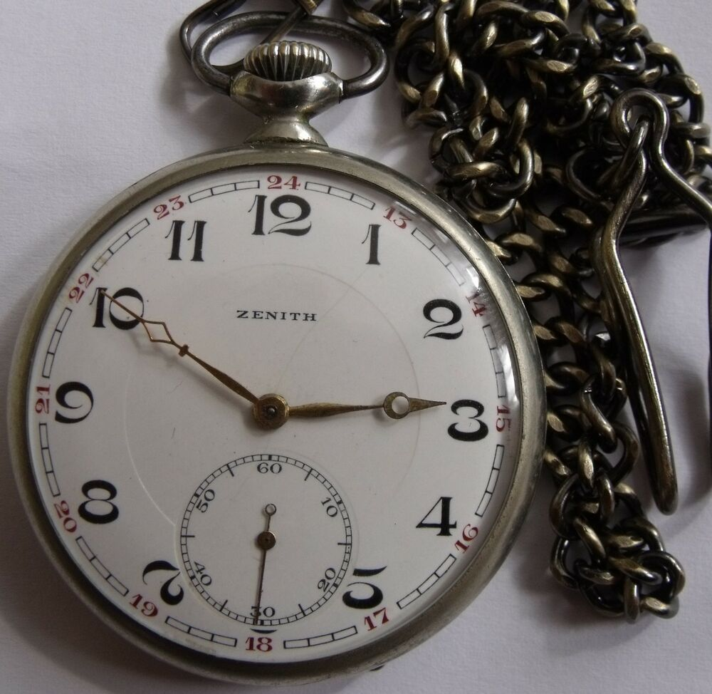 rare zenith swiss pocket watch grand prix paris 1900 ebay. Black Bedroom Furniture Sets. Home Design Ideas