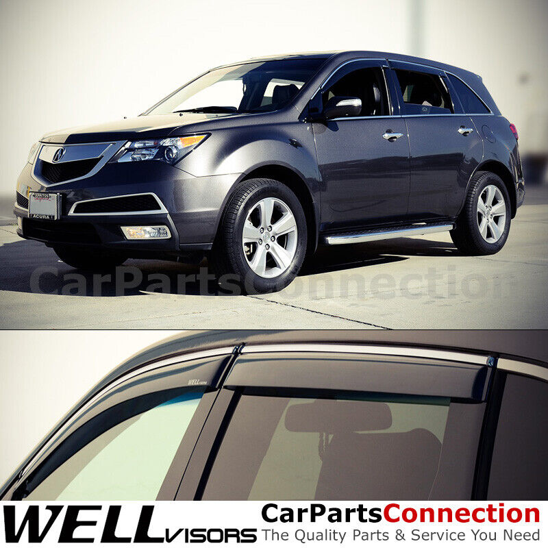 WellVisors Acura MDX 07-13 Sleek HD Side Window Visor