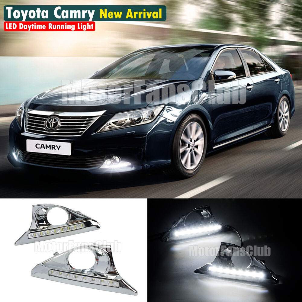new led daytime running light for toyota camry drl fog. Black Bedroom Furniture Sets. Home Design Ideas