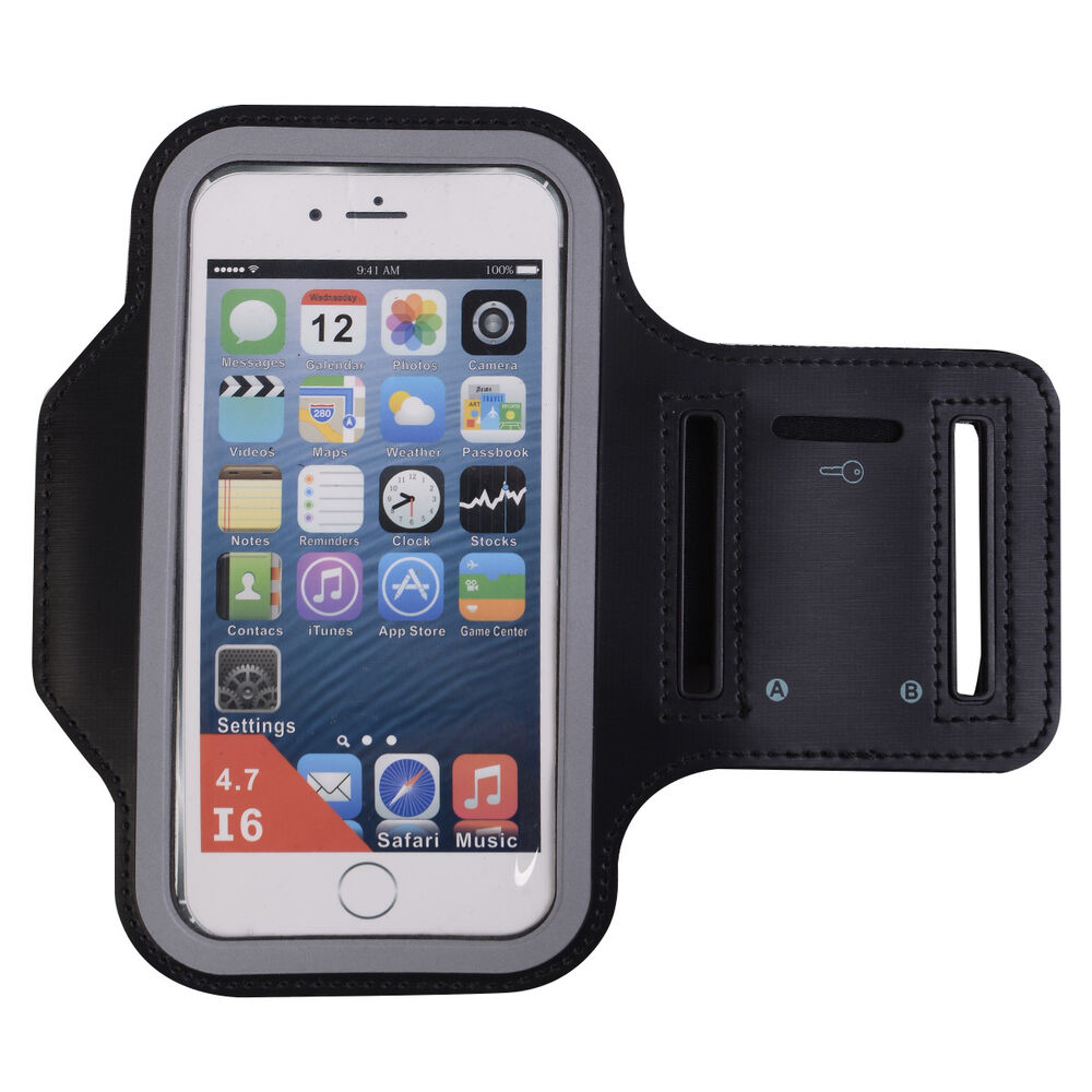 iphone holder for running black sports running armband cover holder 7949