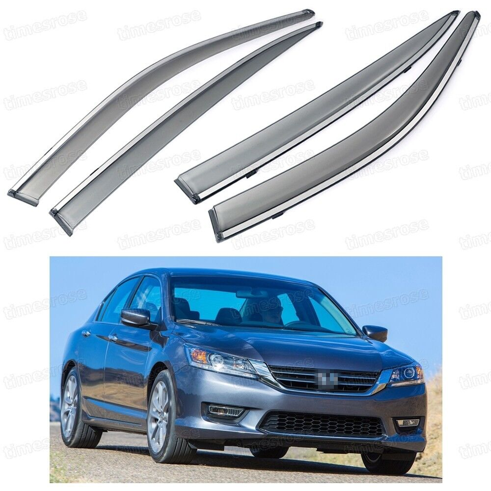 Dark Gray Auto Side Window Visor Sunshade Shield Car