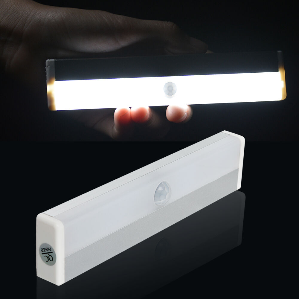 Outdoor Motion Sensor Light 8 Led Battery Powered Home