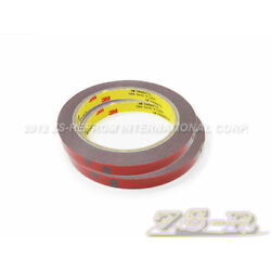 Kyпить Two Rolls of 1mm thick 3M Automotive Acrylic Foam Double Sided Adhesive Tape на еВаy.соm