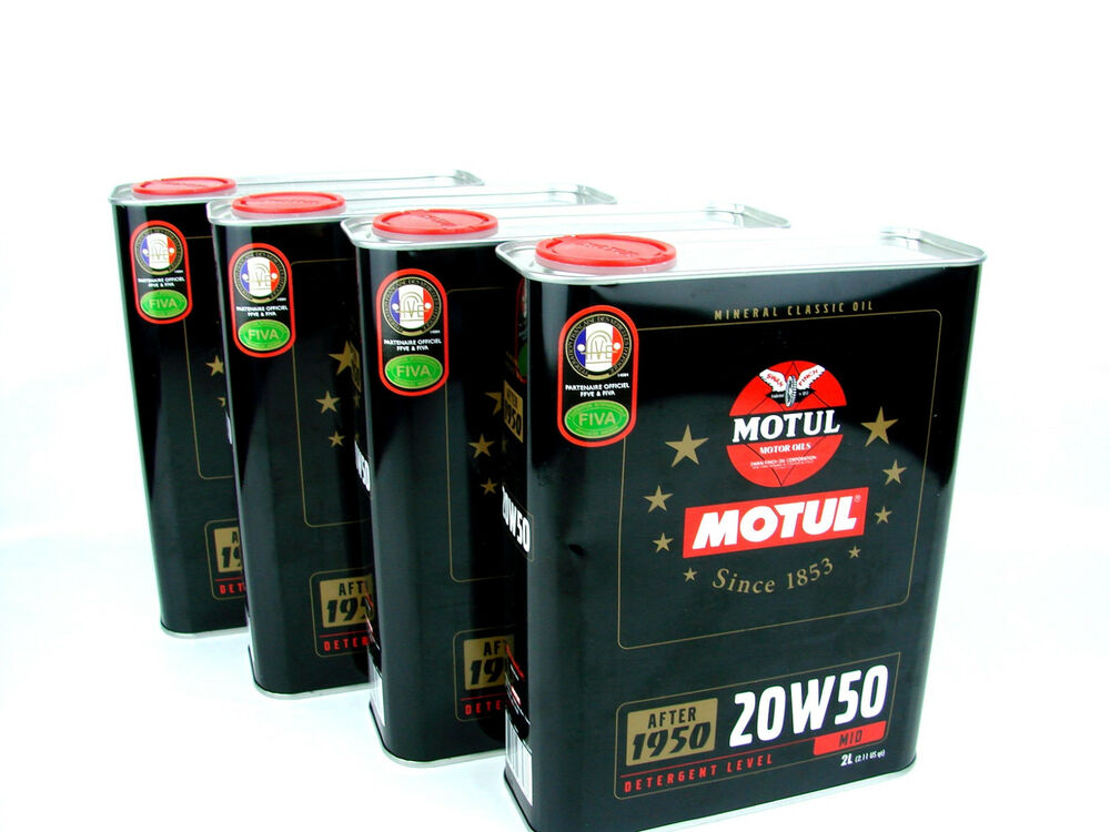 motul 20w50 l motor l oldtimer classic motoren l oil ab. Black Bedroom Furniture Sets. Home Design Ideas