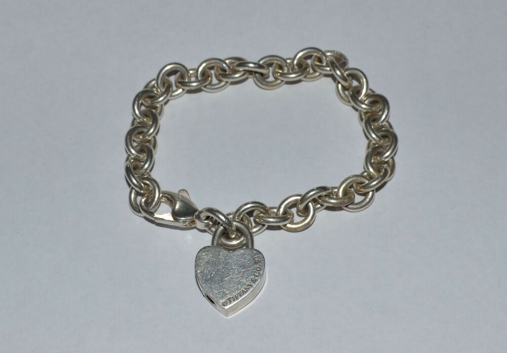 and co sterling silver locket charm bracelet