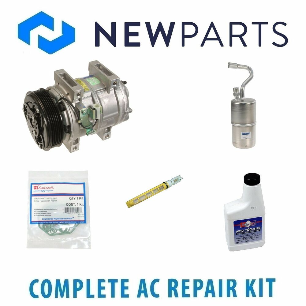 For Volvo C70 S70 V70 Complete Ac A C Repair Kit W New Compressor 850 Clutch Ebay