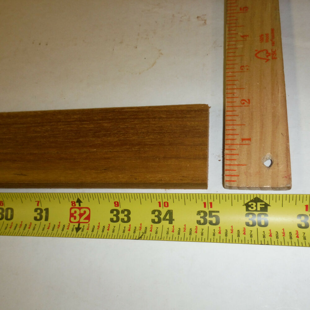 Inch long wide quot thick teak wood planed and